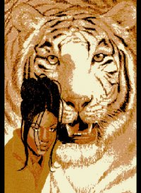 L1020 lady-with-tiger