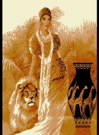 L1021 lady-with-lion