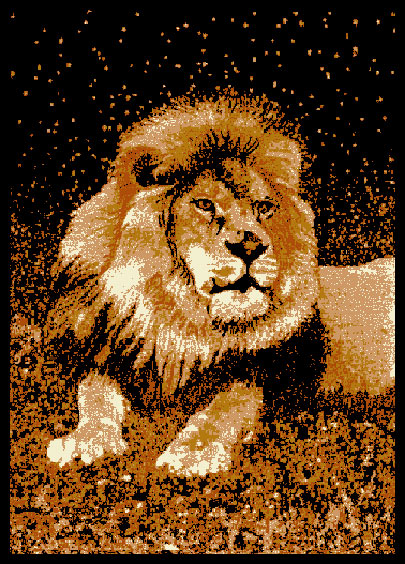 L1019 lion